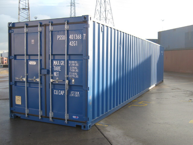 Hire A 40ft Shipping Container Lock And Store 0845 833